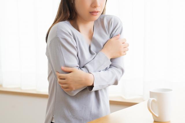 頻繁に風邪をひき、一度風邪をひくと治りにくい
