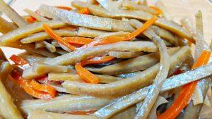 ごぼう やっかいな慢性便秘には硬い食物繊維