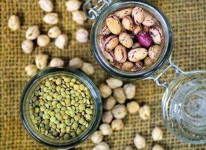 食物繊維たっぷりの豆類